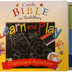 Candle Bible for Toddlers Learn and Play - Chalkboard Activities