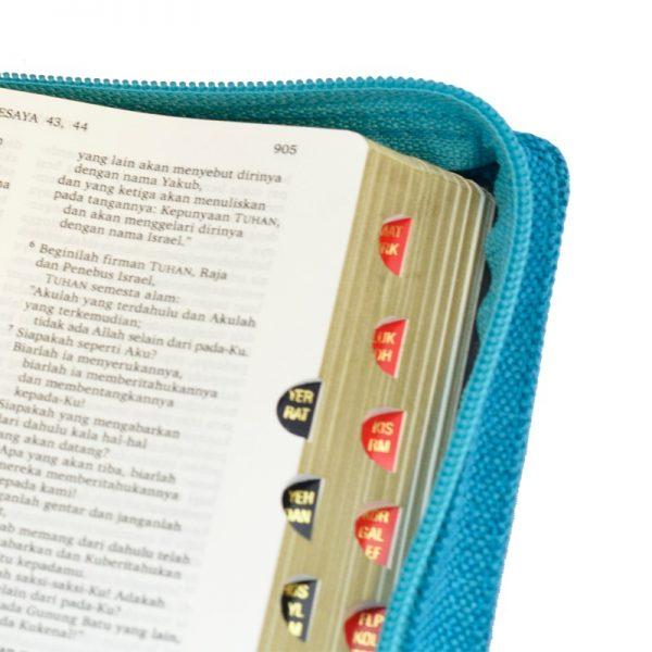Alkitab LAI TB 034 TI Jeans Belel Biru