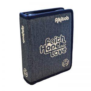 Alkitab LAI TB 034 TI Jeans Gliter Biru