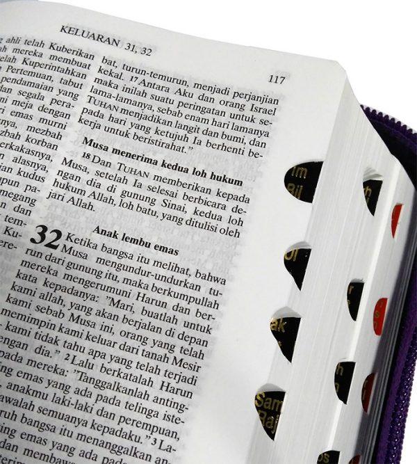 Alkitab TB 044 TI Saku Neuro Ungu