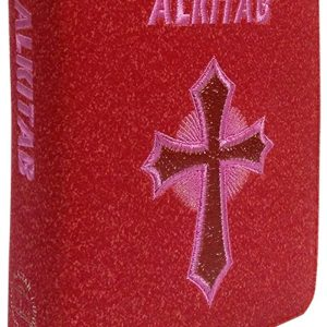 Alkitab LAI TB 034 TI Salib Metalik Merah
