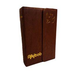 Alkitab LAI TB 064 TI SL Agenda Coklat Tua